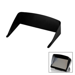 $enCountryForm.capitalKeyWord Australia - New 5 Inch Car Sun Shade Shield Visor GPS Professional Navigator Sun Shade Anti Reflective Black Tonsee Free shipping