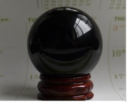 $enCountryForm.capitalKeyWord Australia - New 38MM+Stand Black Sphere Crystal Ball