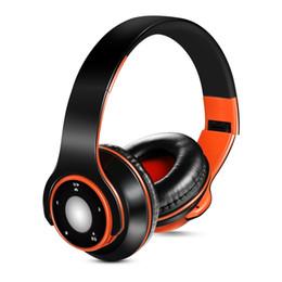 Toptan satış SG-8 Bluetooth 4.0 + EDR Kulaklık Bluetooth Kulaklık Müzik Çalar Kablosuz Stereo Kulaklık Dahili Mikrofon Siyah