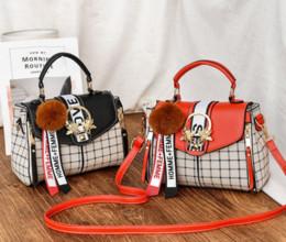 6991b37cdb30 2019 новый бренд роскошный дизайнер женские сумки новая сумка женская  корейская версия стереотипа сладкие женщины мода небольшой мешок плеча