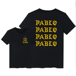 $enCountryForm.capitalKeyWord UK - Kanye West The I Life Of Pablo Kanye T shirt Men Summer Brand Clothing T-Shirt I Feel like Paul Kanye Tee Shirt Homme