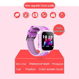 Discount anti lost reminder - Y35 Children Smart Watch Sim Card Touch LBS GPRS Tracker Positioning One - Touch SOS Anti-Lost Waterproof for IOS Androi