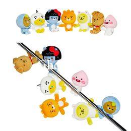 "$enCountryForm.capitalKeyWord Canada - Top New 7 Styles 4.3"" 11CM APEACH FRODO Jay-G Muzi Neo RYAN TUBE Plush Doll Anime Magnetic Keychains Pendants Stuffed Gifts Soft Toys"