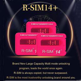 Original RSIM14+ RSIM 14 unlock card R-Sim 14+ smart upgraded IOS13 system quick unlocking card for iphone 11 Pro Max X XS 8 Plus 7 6 5 on Sale