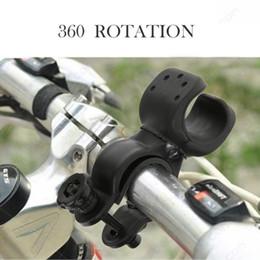 $enCountryForm.capitalKeyWord Australia - 360 Degree Rotation Front Light Holder Bicycle Handlebar Flashlight Lamp Torch Holder Cycling Head Light Clip Bike Accessories