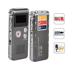 $enCountryForm.capitalKeyWord Australia - Situ Audio Recorder Dictaphone 8GB Sound Recording Long Record Time about 280 hours Powerful magnet Clip LED Light