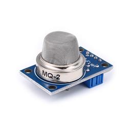 $enCountryForm.capitalKeyWord Australia - 100% New 10pcs lot MQ-2 MQ2 Smoke Gas LPG Butane Hydrogen Gas Sensor Detector Module For Arduino free shipping
