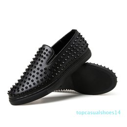 male shoes for sale Australia - Designer mens casual shoes loafers luxury hot sale for adult male sneakers plus size leather shoes zapatos de hombre sneaker t14