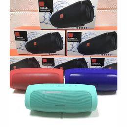 Dual Mobile Audio Australia - prevent water Bluetooth Speaker Charge4 Plugin Bluetooth Speaker Mobile Power Dual Diaphragm High Volume Speaker Portable Radio for jbl