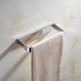 $enCountryForm.capitalKeyWord UK - Single Bar Towel Bar Wall Mount Copper Modern Rust-free Towel Hanger Ring Holder Towels Hook for Hotel