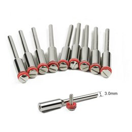 $enCountryForm.capitalKeyWord Australia - CMCP 10pcs set 2.35 3.0mm handle steel screw mandrel shank cutter-off holder Dremel rotary accessories tools