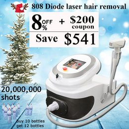 permanent laser hair removal home Australia - 808nm diode laser hair permanent hair removal beauty equipment home use 808 Sapphire Crystal laser hair removal machines