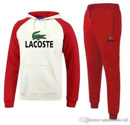 Large Lapel Suits Australia - Brands Sporting Suit Men Warm Hooded Tracksuit Track Polo Men's Sweat Suits Set Letter Print Large Size Sweatsuit Male