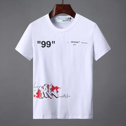 New fashioN dress teeN online shopping - New trendy menswear womenswear teen teen T shirt summer monogrammed no skateboard top short sleeved dress