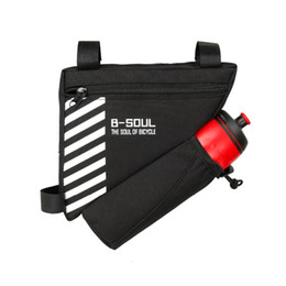 Tube Top Colors Australia - Triangle Bicycle Bag Cycling Front Bag Bike Frame Bag Top Tube Accessories 4 Colors (do Not Include Water Bottle)