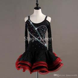 dresses for latin dance competitions NZ - 2020 Crystal Women Professional Latin Dance Dress for woman Ballroom Dance Competition Dresses Adult Modern Waltz tango   Cha Cha Costumes
