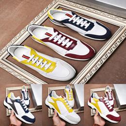 $enCountryForm.capitalKeyWord NZ - Italian design mans lace up casual shoes Luxury design style Thick bottom Non-slip wear mans sport shoes Original LOGO man shoes Drop Ship
