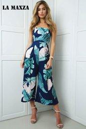 $enCountryForm.capitalKeyWord Australia - Loose Women Jumpsuit Romper Floral Print Women Bodysuits Chiffon Playsuits