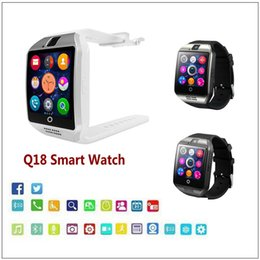 Discount q18 watch - Q18 Smart Watches Bluetooth Smartwatch With Camera For Android Phones Sports Wristwatch Support TF SIM Card Touch Screen