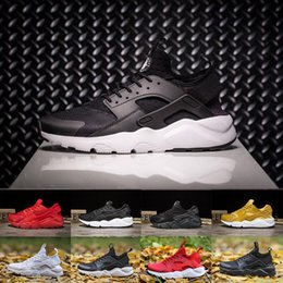 52bd61fe868d 2018 Huarache 4.0 1.0 Classical Triple White Black red gold men women  Huarache Shoes Huaraches sports Sneakers Running Shoes 36-45