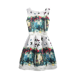 $enCountryForm.capitalKeyWord NZ - 2019 Fashion Summer Mother Daughter Dress Party Print Butterfly Mom Girls Dresses Family Matching Outfits Mommy And Me Clothes