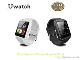 U8 Bluetooth Smart Watch Wristwatch Phone Australia - Rohs Silicone Strap Smart Watch U8 Wristwatch Cheap Support Bluetooth Speaker Android Mobile Phone Watch U8