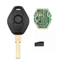 $enCountryForm.capitalKeyWord Australia - Buttons 433Mhz ID44 chip HU58 Blade Remote Key for BMW 318 325 330 525 530 540 E38 E39 E46 EWS M5 X3 X5 Car Key