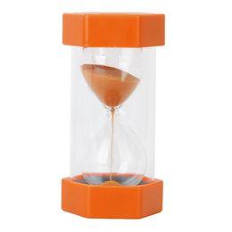 Security Glasses Wholesale Australia - Hourglass Sand glass 2 Minutes security and fashionable - Orange