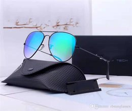 $enCountryForm.capitalKeyWord Australia - Top quality Pilot sunglasses Men Brand Designer uv protection Sunglass Women Driving 18 color glass lens Sun glasses with box and case