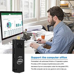 2019 novo Portátil windows10 W5 Pro Ventilador de Refrigeração Intel Cherry quad-Core Atom Z8350 2 GB 32 GB Computador Dongle MINI PCs Vara fabricante on Sale