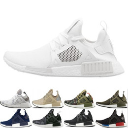 a7d7c4e04 Cheap NMD XR1 Mens Running shoes OG Mastermind Japan Triple Black White  Zebra Olive Camo Men Women Trainer Primeknit Sports Sneakers