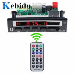 $enCountryForm.capitalKeyWord Australia - KEBIDU Bluetooth5.0 MP3 WMA WAV Decoder Board 5V 12V Wireless Audio Module Color Screen USB TF FM Radio For Car accessories