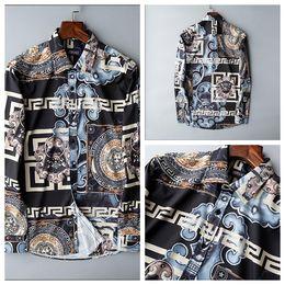 $enCountryForm.capitalKeyWord Australia - The new luxury goods brand men xiushen pure color fashion shirt boutique fiber long sleeve button-down stripes shirt S-3xl free freight a03