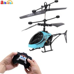 Boys Toys Helicopter Australia - AIBODUO Official 810 RC Helicopter 2 CH 2 Channel Mini RC Drone Resistant Toys For Boy Kids Gift Red Yellow Blue
