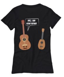 Wholesale Women s Tee Hot Sale New Women s T Shirt Round Neck Best Selling Female Natural Cotton Shirt Guitar To Ukelele T Shirt Printing