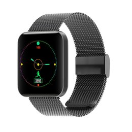 Smart Watch Tracker Australia - Smart watch Color Screen IP67 Bluetooth Pedometer Smart Band Fitness Tracker Heart Rate Monitor SmartWatch For Android IOS