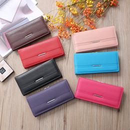 $enCountryForm.capitalKeyWord Australia - Women Charm Long Clutch PU Leather Card Pocket Handphone Key Wallet Money Pouch Coins Purse Ladies Organizer Wallet Handbag