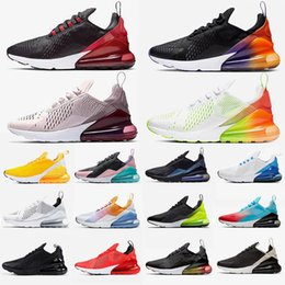 Hot pHotos nude online shopping - 2019 c mens running shoes bred Volt Black Gradient hot punch Regency Purple photo blue SE Floral chaussures desinger sneaker trainer