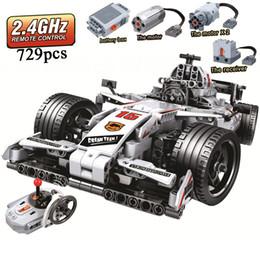 $enCountryForm.capitalKeyWord Australia - Moc F1 Racing Car Remote Control 2.4ghz Technic With Motor Box 729pcs Building Blocks Brick Creator Legoinglys Toys For ChildrenMX190820