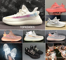 venom shoes Australia - grey green rainbow orange Clay Pink reflective Static Venom Men Running Shoes Grey white Zebra Kanye west 3M glow Sports v2 women Designer