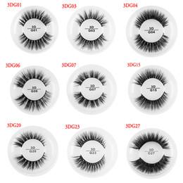 d4cbd51e9a0 Natural 3D Pure Mink Hair False Eyelashes Thick Fluffy Wispy Eyelashes  Wispy Long Eye Lash Extension Women Eye Makeup 11 Styles