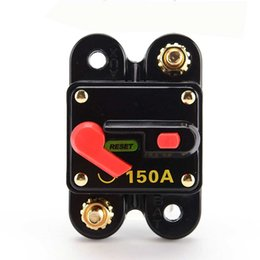 Car Refitting Australia - Car Audio Manual Circuit Breaker 150A Refitted Replace Fuse Reset Limit Switch