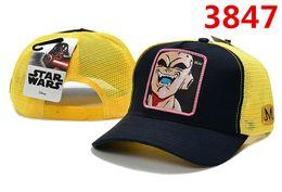 $enCountryForm.capitalKeyWord Australia - Fashion Cartoon Caps Superman star Summer wars caps Baseball Hats Embroidery Animals Breathable Sun Cap Justice League of America Golf Hat