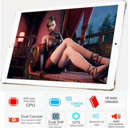 2g ram tablet Australia - 10' Android 6.0 P80 MTK6592 Octa Core IPS 4G RAM 32G ROM Cellular Dual SIM Phone Tablet PC 3G WCDMA 2G GSM GPS WIFI Bluetooth