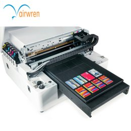 Printers A3 NZ - Industry and trade integration airwren white AR-LED Mini4 plastic card embossing machine a3 uv printer