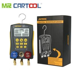 Media Keys Australia - MR LM120 Refrigeration Manifold Digital Table HVAC Auto Cold Medium Gauge Pressure Temp Tester Car Air Conditioning Conditioner