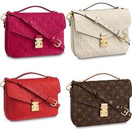 25cm box online shopping - Brand classic cm messenger bag women genuine leather handbag luxury design iconic bag shoulder bags lady casual tote metis7b06
