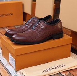 Boot uppers online shopping - 2075 Business Breathable Hole Leather Upper Brown Men Dress Moccasins Loafers Lace Ups Boots Drivers Sneakers Shoes