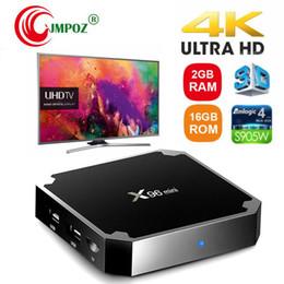 $enCountryForm.capitalKeyWord Australia - X96 Mini TV Box Android 7.1 2GB 16GB Amlogic S905W Quad Core Media Player ARM Cortex A53 Mali-450MP CPU Better MXQ PRO RK3229 2GB