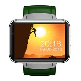 Android Os Smart Watch Australia - DM98 Bluetooth Smart Watch 2.2inch Android OS 3G Smartwatch Phone MTK6572 Dual Core 1.2GHz 512MB RAM 4GB ROM Camera WCDMA GPS